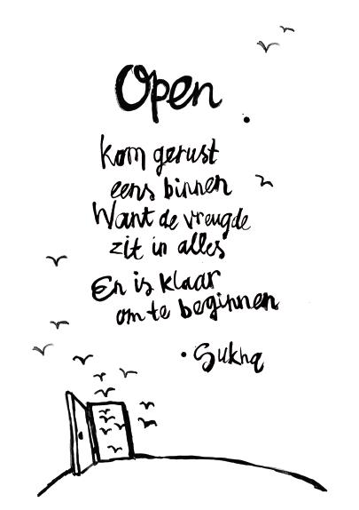 Sukha heeft naast een webshop ook een winkel in de Haarlemmerstraat ...