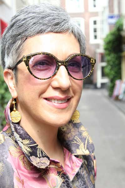 Fashionista Lucy Bosscher in Den Haag