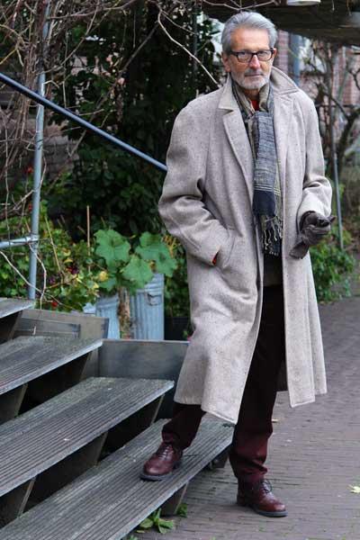 man in Amsterdam