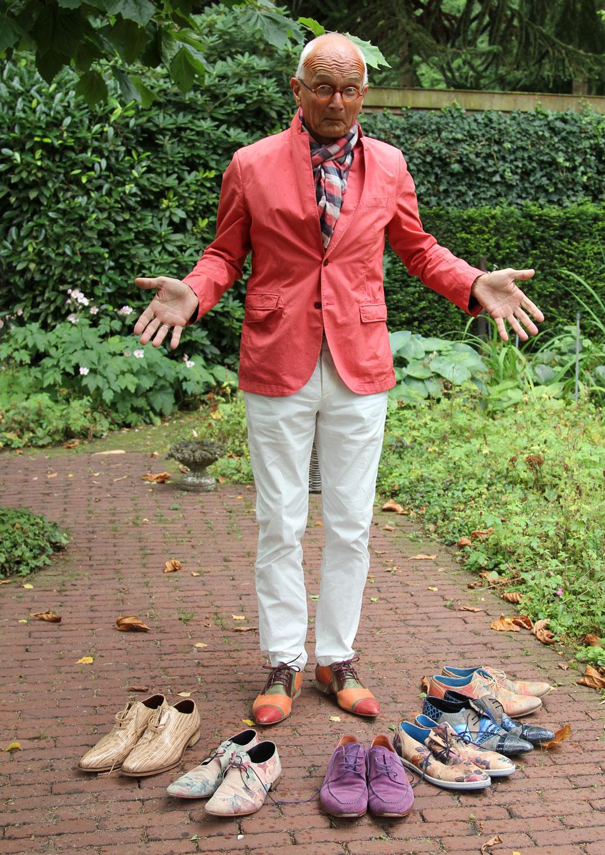 schoenen maken de man….