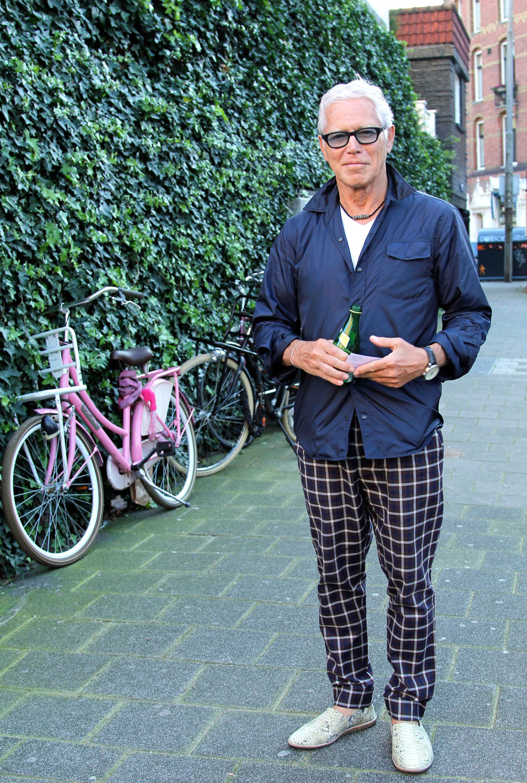 shoe designer Fred de la Bretoniere