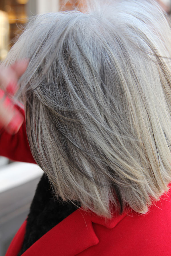'Gray is the new blonde'