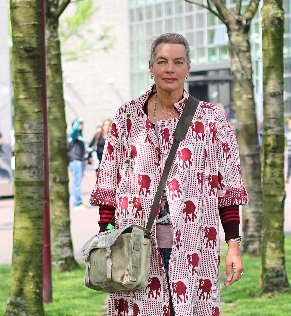 boredaux rood Gerda | MisjaB.nl