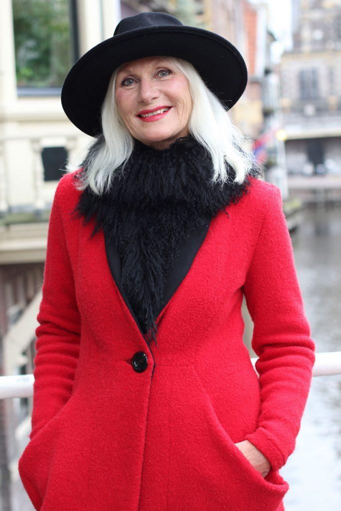 Vakil Eelman: 'model worden na je 50ste, het kan'