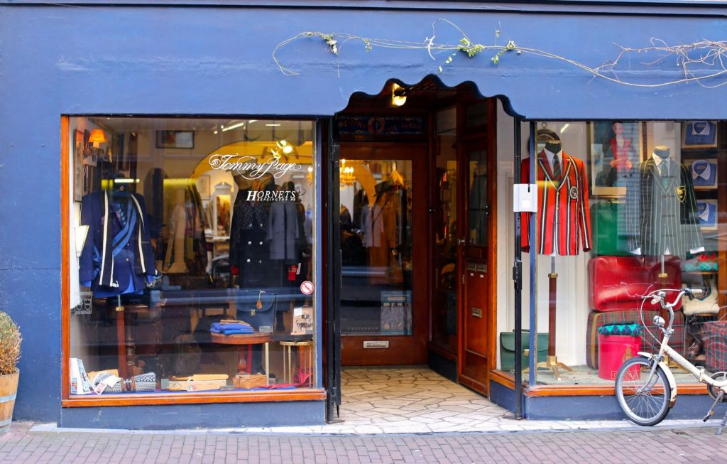 Tommy Page, Prinsenstraat in Amsterdam