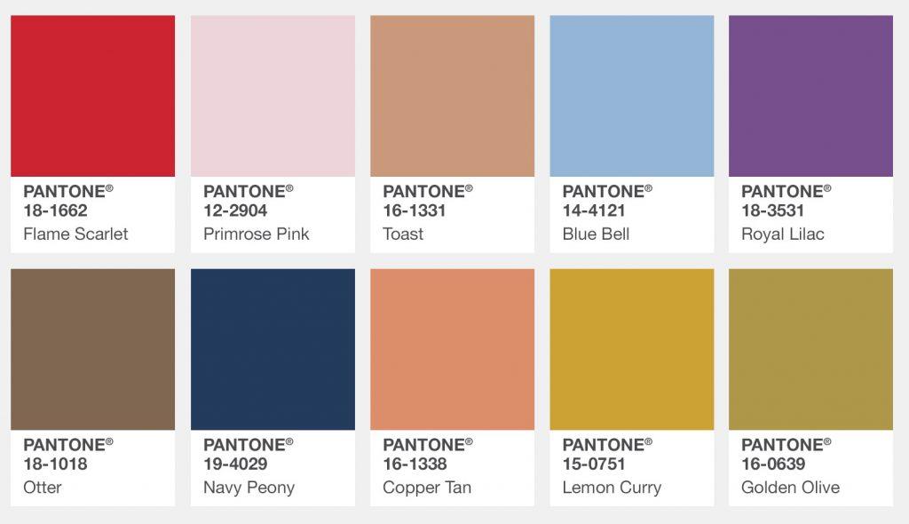 Color Palette  Fashion
