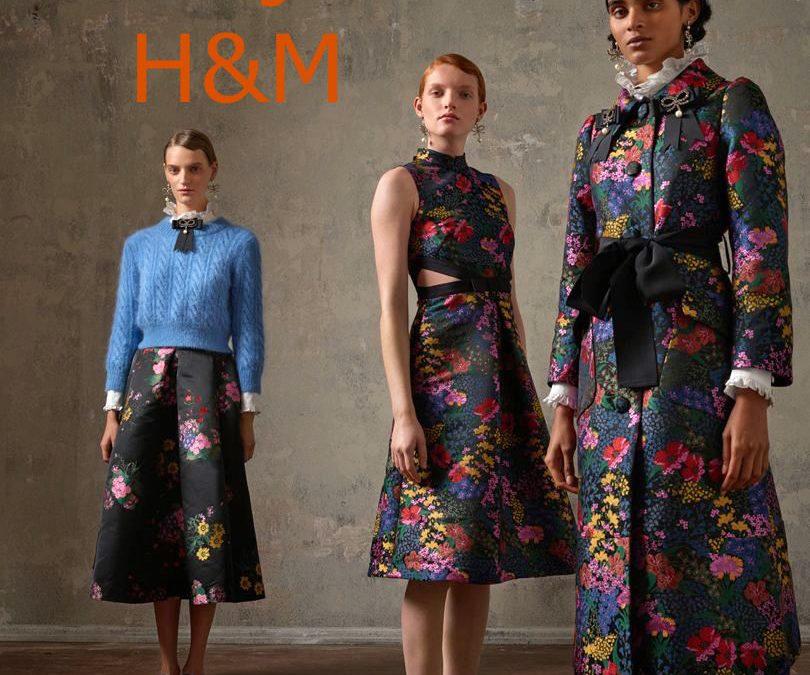 November 2nd Erdem at H&M