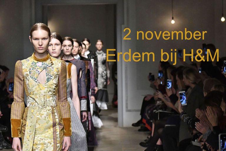 voor in je agenda: 2 november ontwerpen van Erdem bij H&M