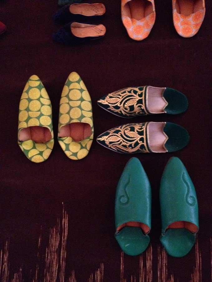 kleurrijk in Marrakech  >>
