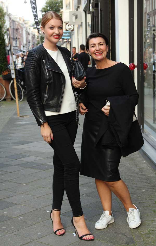 Corine Klok en Anne