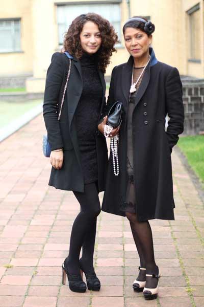 Margriet en Naomi Klijn