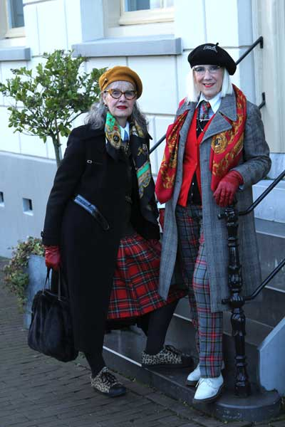 vriendinnen Ruth en Anne-Marie