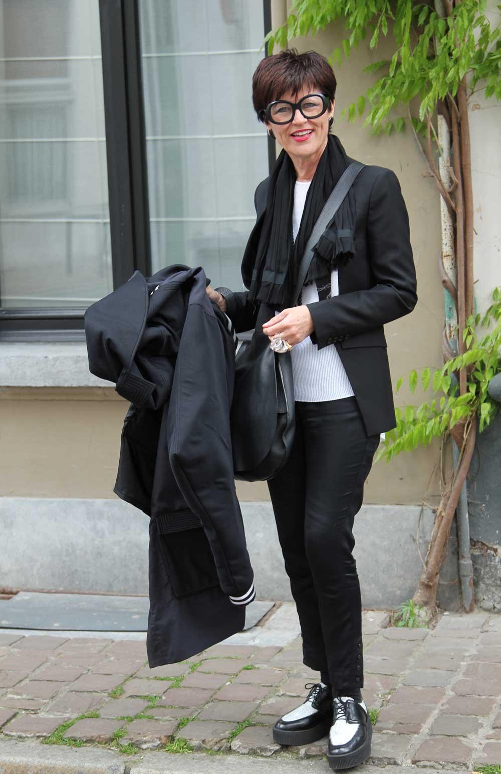 op straat in Antwerpen: Francine
