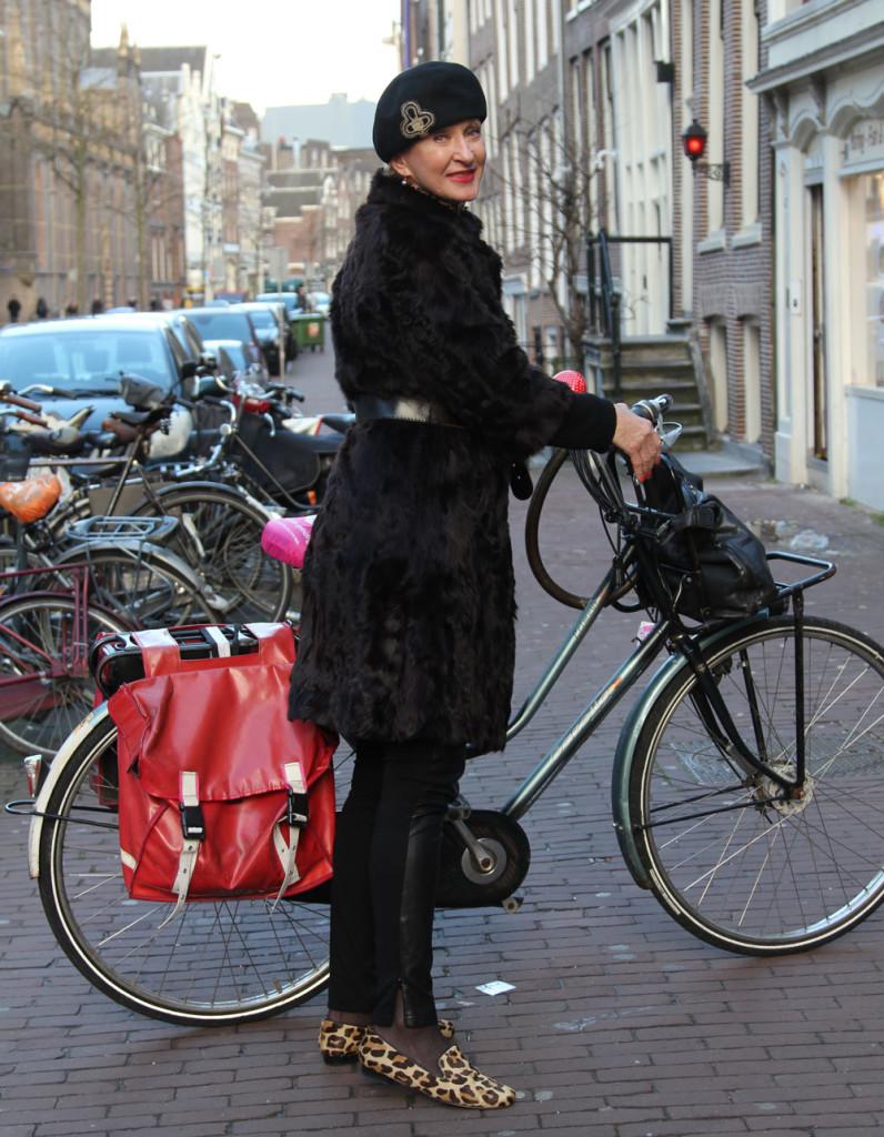 Corrien met fiets