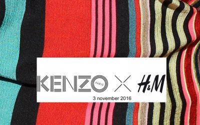 Kenzo en H&M vanaf 3 november