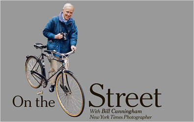 How did Bill Cunningham met Tziporah Salamon?