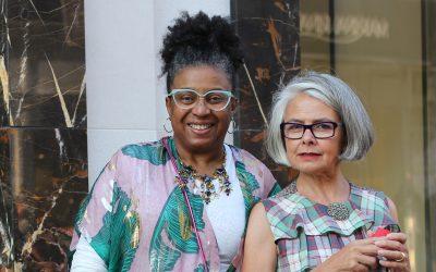 Twee vriendinnen met passie voor mode en stijl
