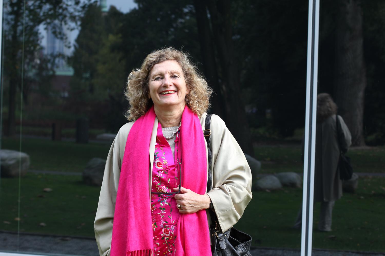 Ankie Groenenboom: 'liefde voor mooie stoffen heb ik meegekregen..'