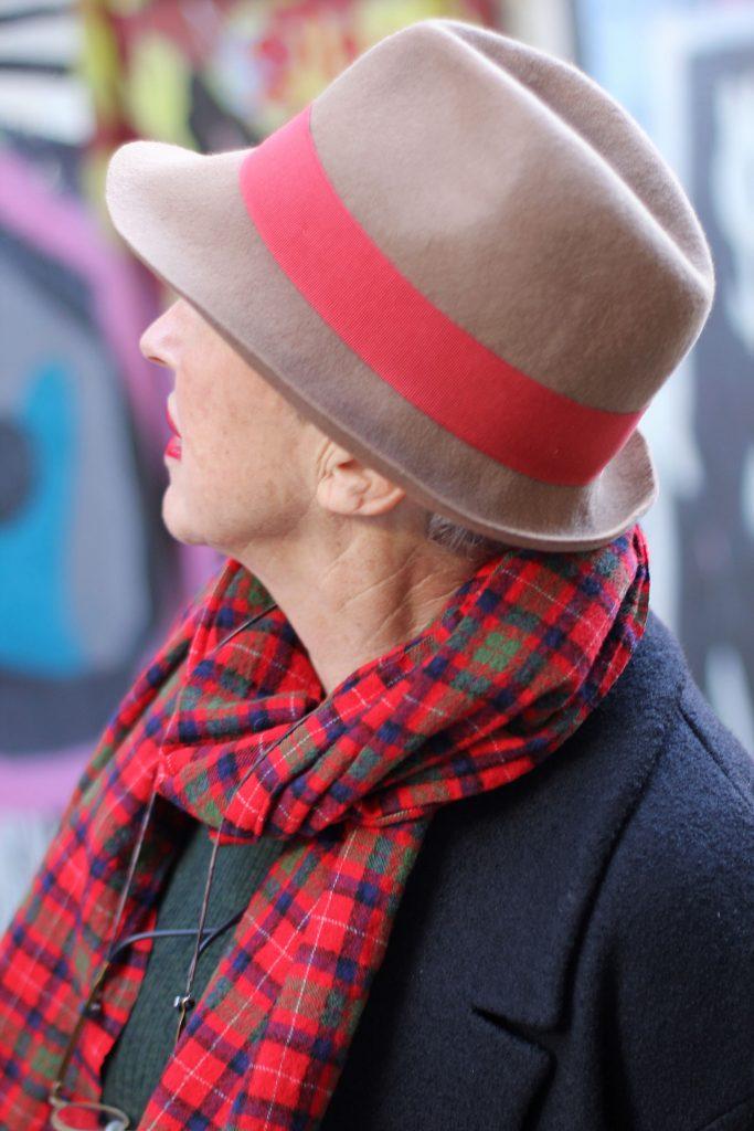 'Als het kouder wordt draag ik altijd een hoed...'