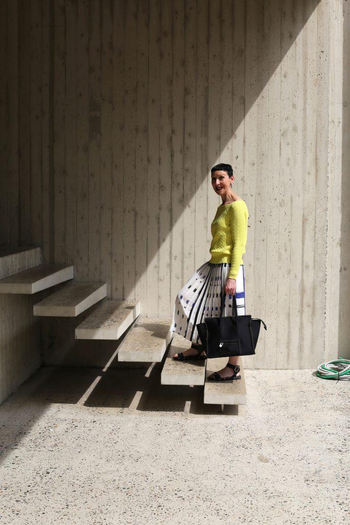 Een fashionista op straat in Antwerpen: Hilde Baeten