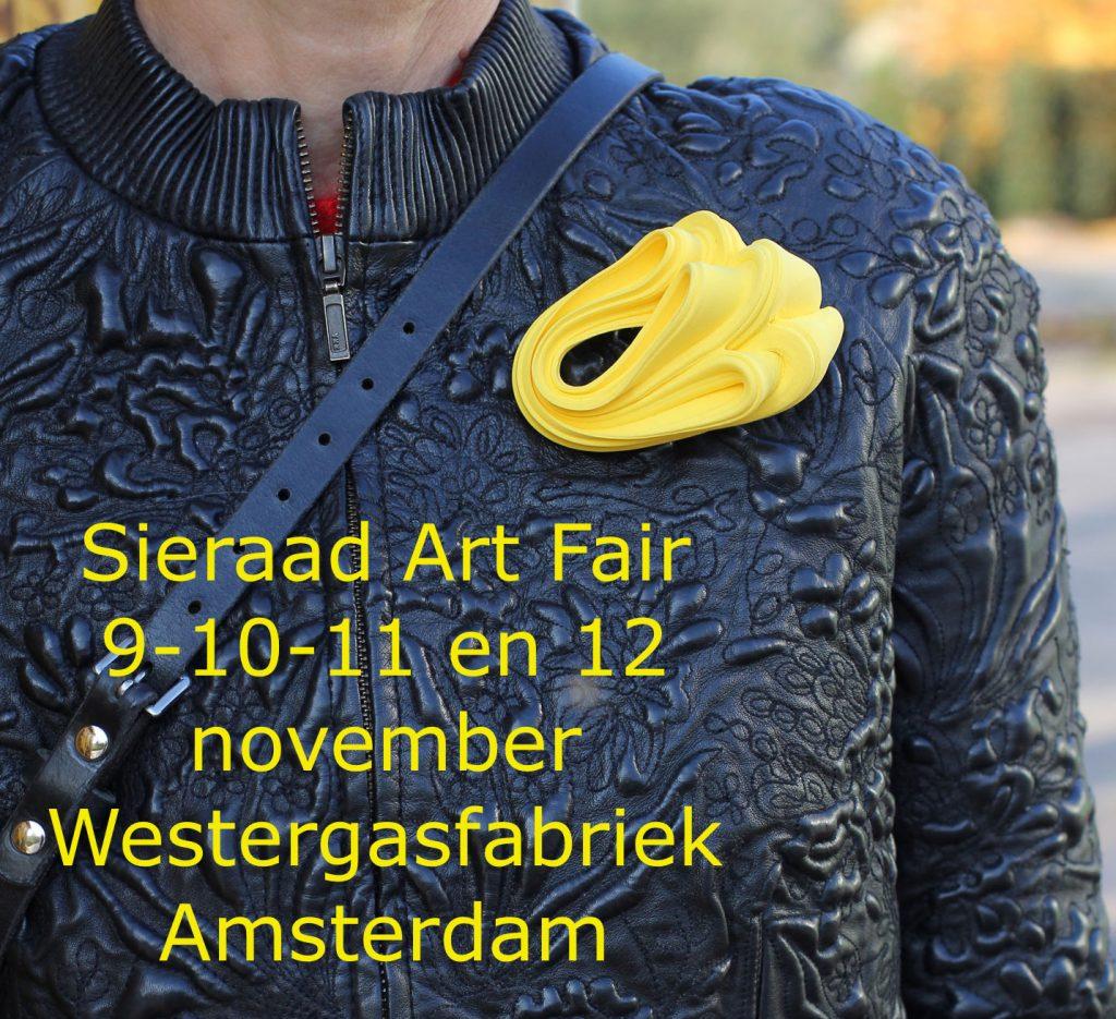 Sieraad Art Fair Westergasfabriek Amsterdam