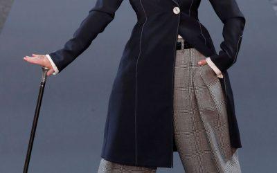 Oudere modellen stelen de show tijdens Fashion Week