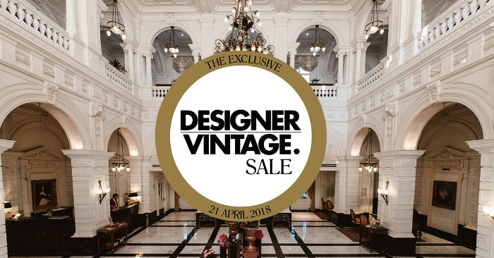 Designer Vintage Sale 21 april in het Amstel