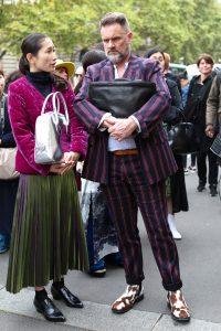 Snelle street style kiekjes tijdens Paris Fashion Week