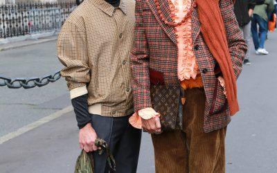 Street style tijdens Paris Fashion Week deel 2