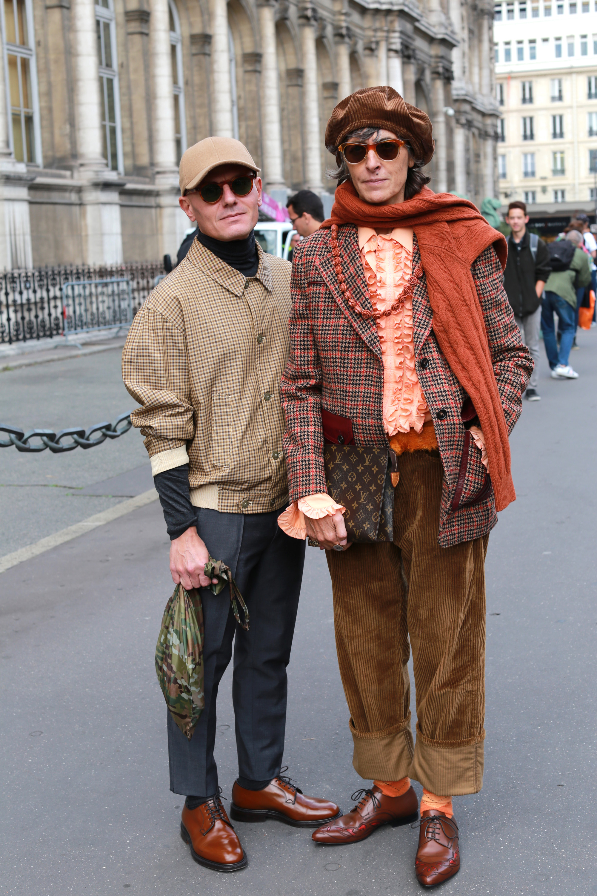 Street style in Paris during Fashion Week, part 2