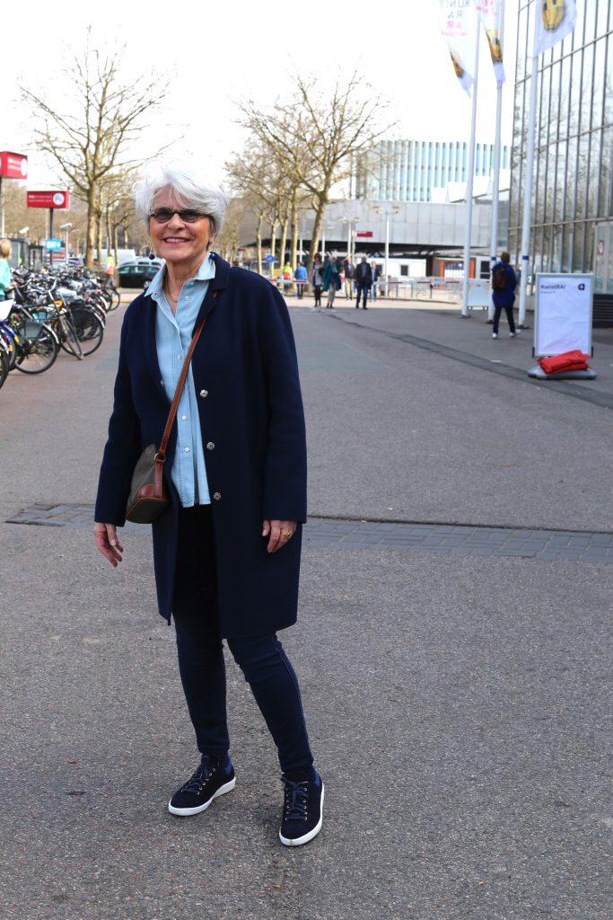 Snelle kiekjes tijdens KunstRAI Amsterdam