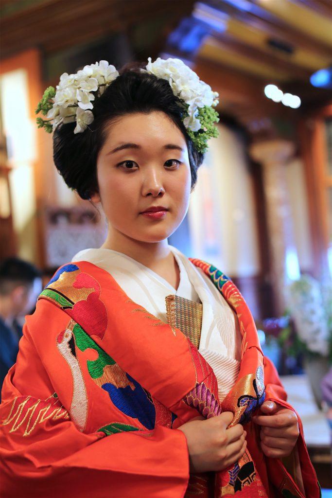 Kimono straatbeeld