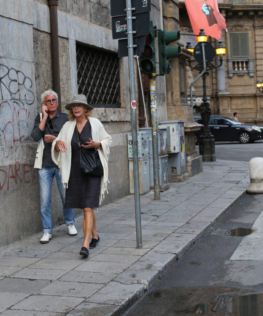 Street style in Italië, snelle kiekjes op straat in Palermo