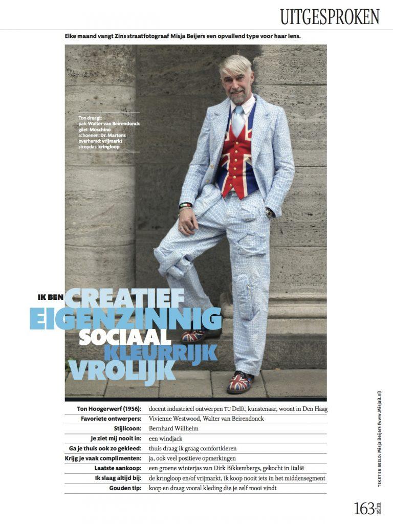 straatfotografie in Zin magazine: de 10 meest kleurrijke vrouwen én mannen