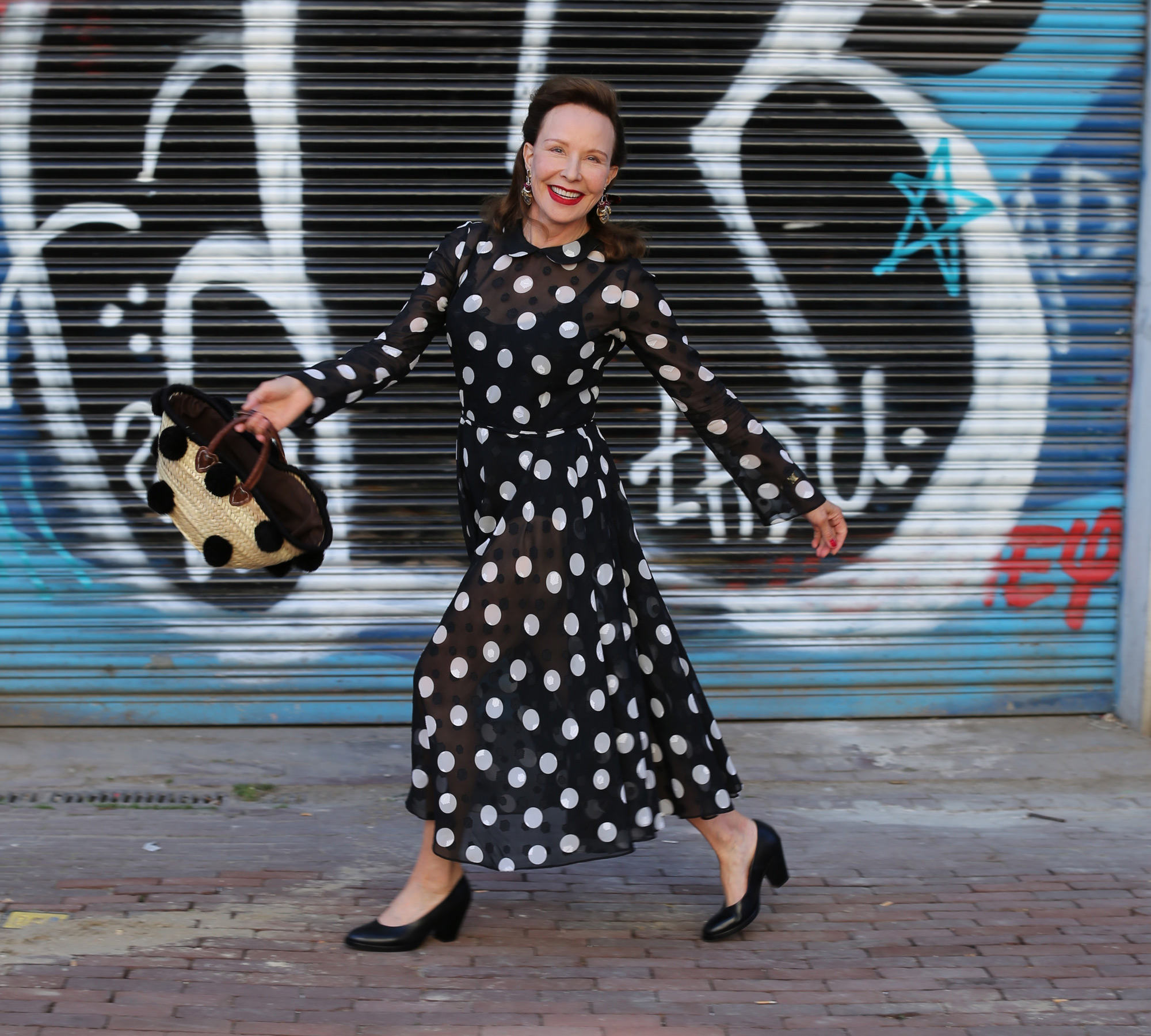Margot Werts, dit keer als model in Amsterdam voor Zin magazine