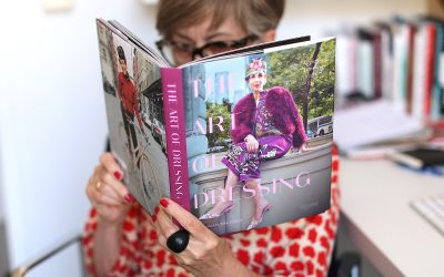 The latest book by Tziporah Salamon: The art of dressing