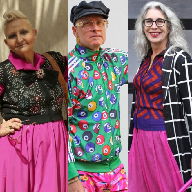 street style in Zin magazine: the 10 most colorful women and men