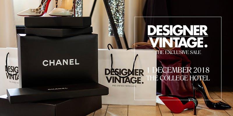 Tip voor je agenda: Designer Vintage Sale 1 december