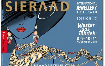 Sieraad Art Fair in de Westergasfabriek in Amsterdam