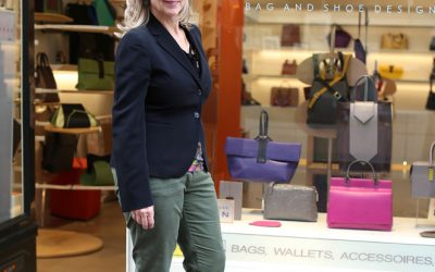 Bag- and shoe designer Hester van Eeghen