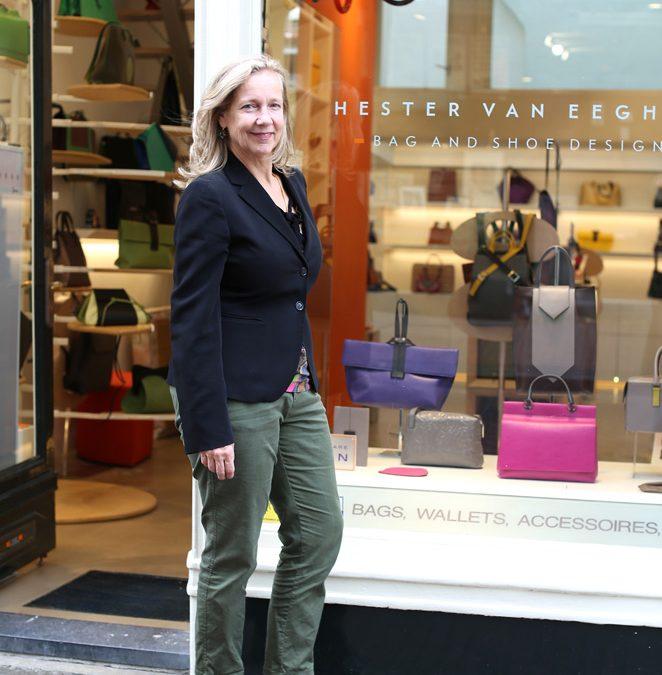 Bag- and shoe designer Hester van Eeghen