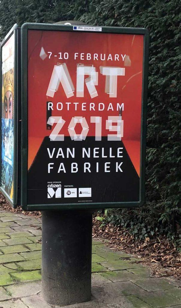 Tip voor je agenda: Art Rotterdam 7 - 10 februari 2019