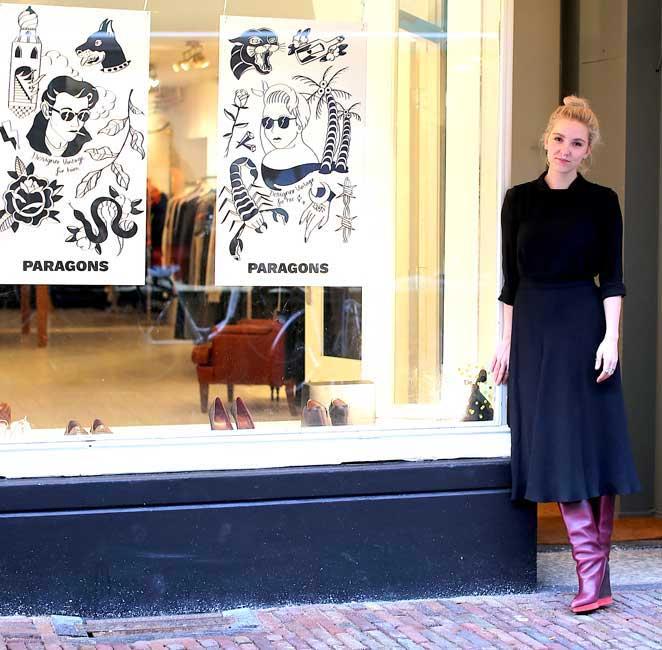 Paragons in Haarlem: designer kleding voor vrouwen én mannen