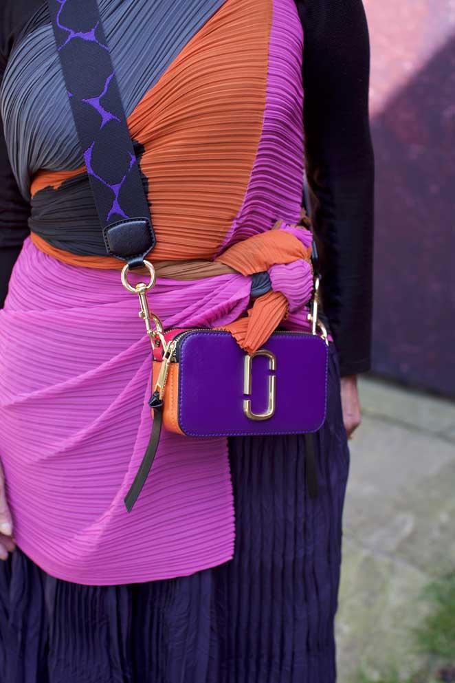 Kleurrijke fashionista in Antwerpen: Griet Baeten