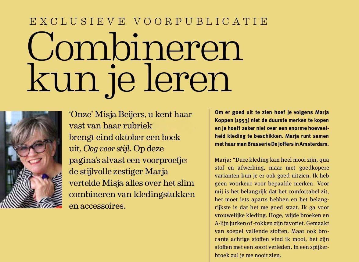 Preview book Oog voor Stijl in Zin Magazine