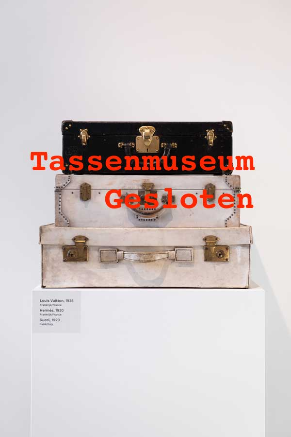 Tassenmuseum Amsterdam gesloten