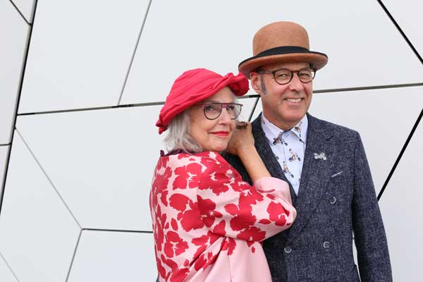 Erica and Hein, their style: classic with a twist