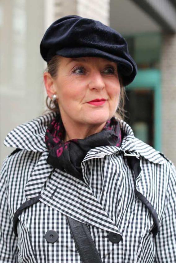 Op straat in Rotterdam: Marianne ten Kaate