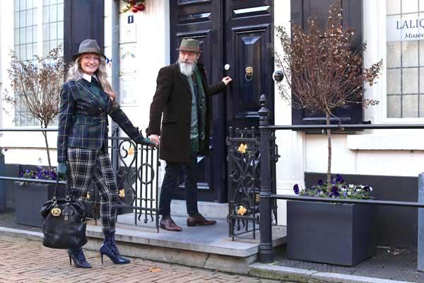 Oog voor stijl, straatfotografie in Doesburg: Joke en George