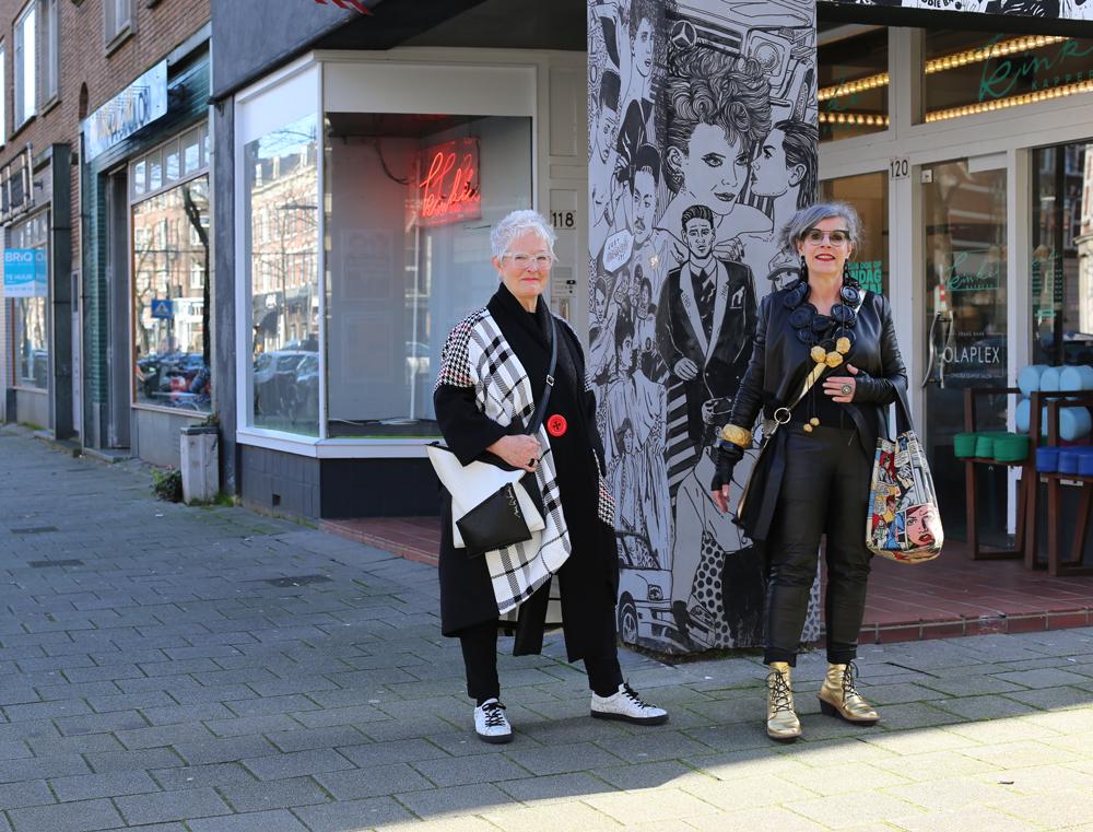Straatfotografie op de Nieuwe Binnenweg in Rotterdam